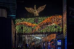 Weihnachtsbeleuchtung Werksviertel-Mitte KaroWiucha