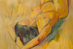 Amanda | 2021 | Eitempera auf Leinwand | 230 x 150 cm | 9.000 Euro